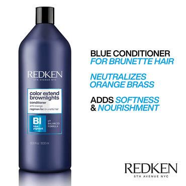 Redken Color Extend Brownlights Après-Shampooing 1l