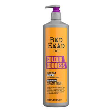 Tigi Bed Head Color Goddess  Shampoo Doordrenkt met Natuurlijke Oliën voor Gekleurd Haar 970ml