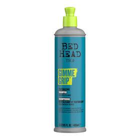 Tigi Bed Head Gimme Grip Conditionerende en texturerende shampoo voor Dof Haar 400ml