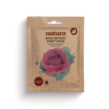 Natura Mask Rose Infused Sheet 22ml