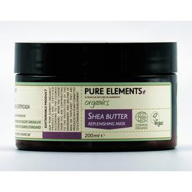 Pure Elements Shea Butter Masque Réparateur - BIO 200ml