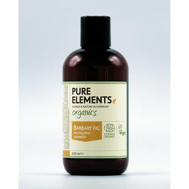 Pure Elements Barbary Fig Revitaliserende Shampoo - BIO 250ml