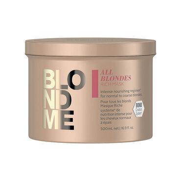 Schwarzkopf BlondMe AB Masque Riche 500ml
