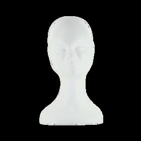 Sibel Lady-S Tête en Polystyrène Isomo Blanc