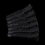 Cricket Clips Super Grip Black 6pcs