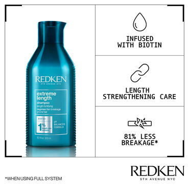Redken Extreme Length Shampooing 300ml