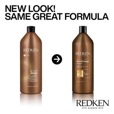 Redken All Soft Mega Shampooing 1l