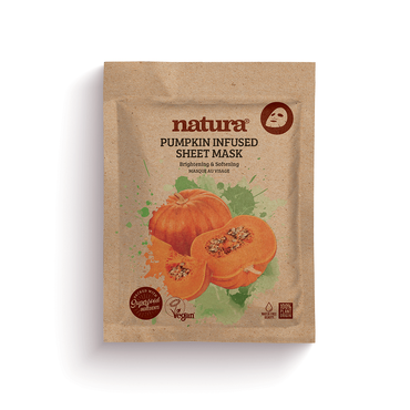 Natura Masque en tissu à la Citrouille 22ml