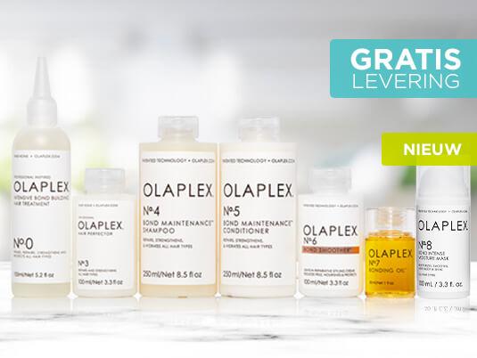 Zorg voor diepgaand herstel van het haar met het enige salonsysteem dat haarbreuk tegengaat en zwavelbruggen in het haar herstelt. Probeer nu OLAPLEX, een revolutionair haarverzorgingsprogramma.